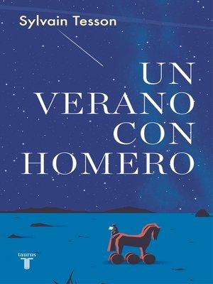cover image of Un verano con Homero
