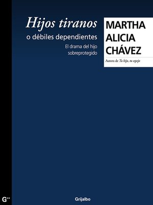 cover image of Hijos tiranos o débiles dependientes