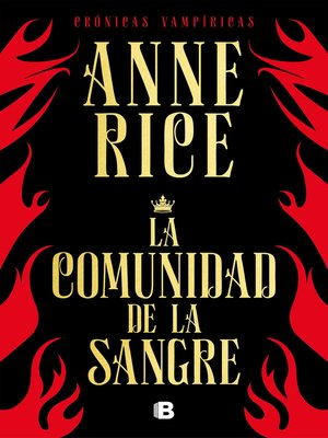 cover image of La comunidad de la sangre