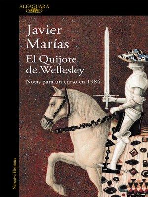 cover image of El Quijote de Wellesley