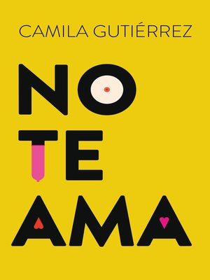 cover image of No te ama