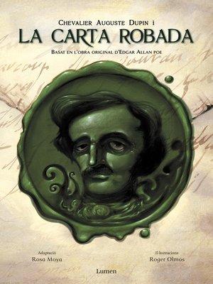 cover image of Chevalier Auguste Dupin i la carta robada