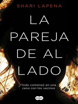 cover image of La pareja de al lado
