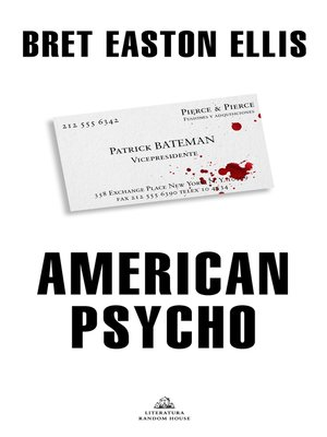 cover image of American Psycho