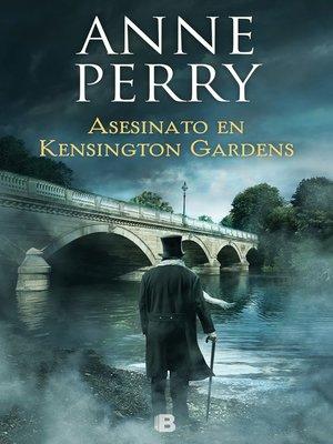 cover image of Asesinato en Kensington Gardens