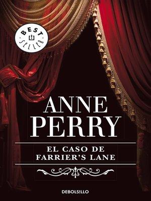 cover image of El caso de Farrier's Lane
