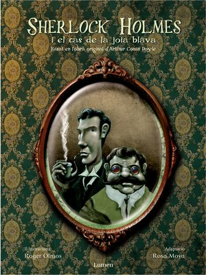 cover image of Sherlock Holmes i el cas de la joia blava