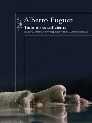 cover image of Todo no es suficiente. La corta e intensa vida de Gustavo Escanlar