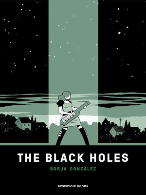 cover image of The black holes