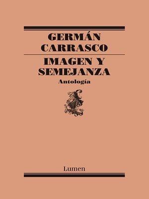 cover image of Imagen y semejanza (Antología)