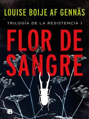 cover image of Flor de sangre