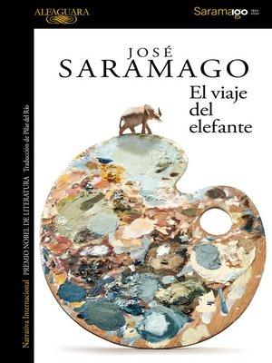 cover image of El viaje del elefante