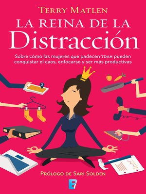 cover image of La reina de la distracción