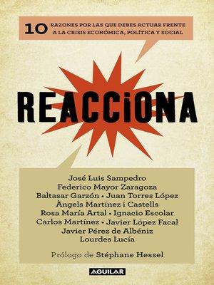 cover image of Reacciona