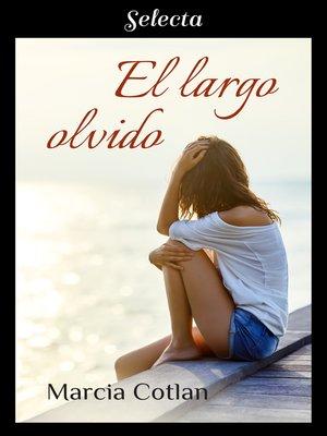 cover image of El largo olvido