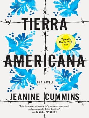 cover image of Tierra americana