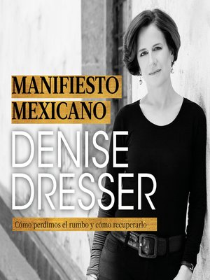 cover image of Manifiesto mexicano