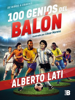 cover image of 100 genios del balón