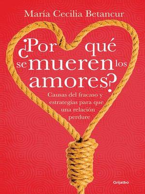 cover image of ¿Por qué se mueren los amores?