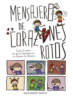 cover image of Mensajero de corazones rotos