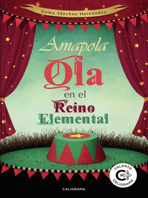 cover image of Amapola Ola en el Reino Elemental