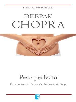cover image of Peso perfecto