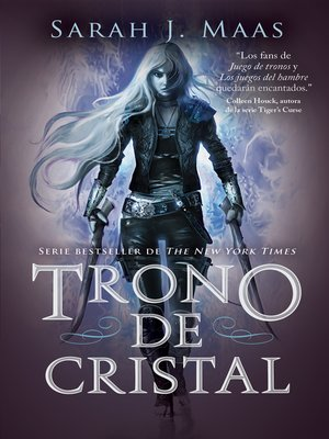 cover image of Trono de Cristal (Trono de Cristal 1)