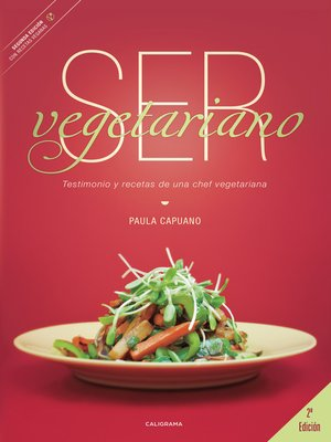 cover image of Ser vegetariano