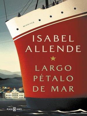 cover image of Largo pétalo de mar