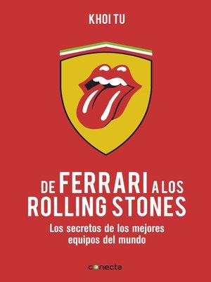 cover image of De Ferrari a los Rolling Stones