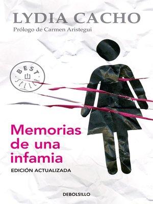 cover image of Memorias de una infamia