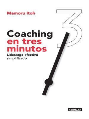 cover image of Coaching en tres minutos