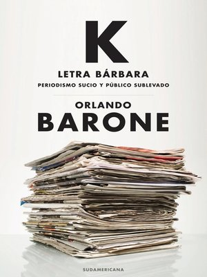 cover image of K letra bárbara