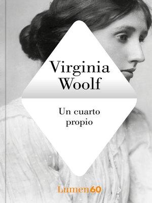 cover image of Un cuarto propio
