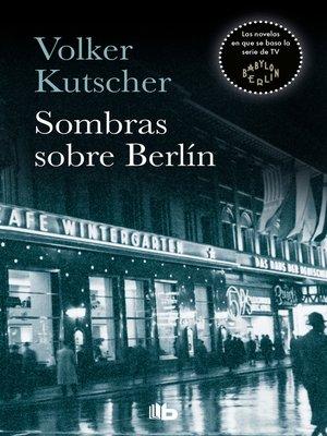 cover image of Sombras sobre Berlín