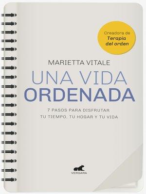 cover image of Una vida ordenada