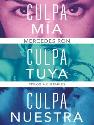 cover image of Trilogía Culpables (pack con