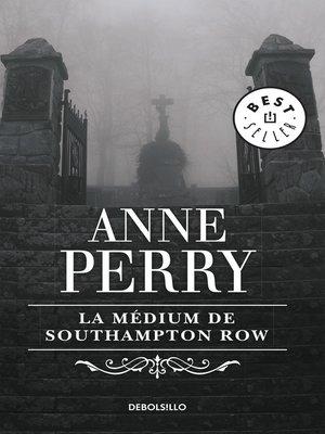 cover image of La médium de Southampton Row