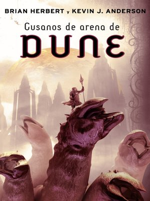 cover image of Gusanos de arena de Dune