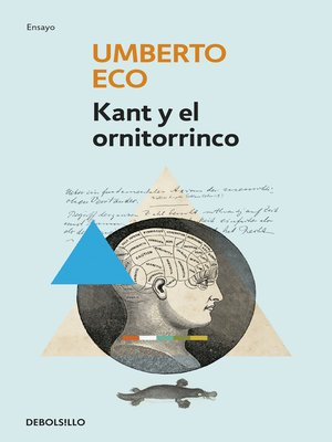 cover image of Kant y el ornitorrinco