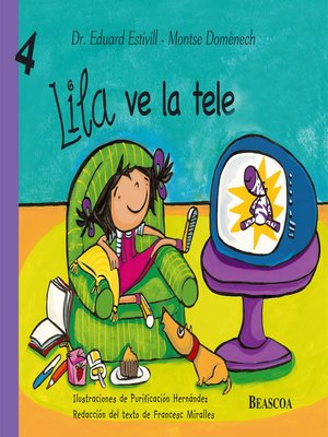 cover image of Lila ve la tele