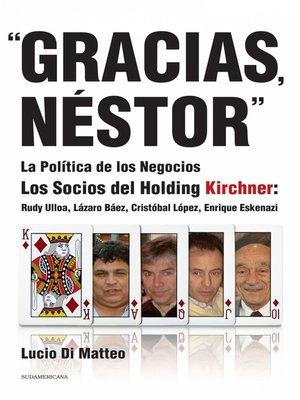 """cover image of """"Gracias, Néstor"""""""