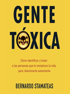 cover image of Gente tóxica