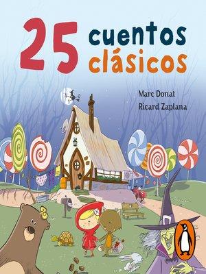 cover image of 25 cuentos clásicos