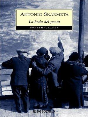 cover image of La boda del poeta