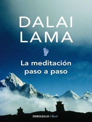 cover image of La meditación paso a paso