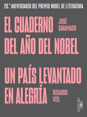 cover image of El cuaderno del año del Nobel | Un país levantado en alegría