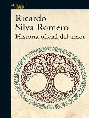 cover image of Historia oficial del amor