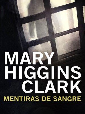 cover image of Mentiras de sangre