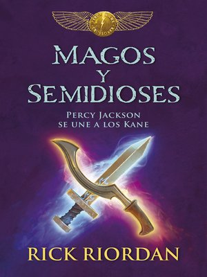 cover image of Magos y semidioses